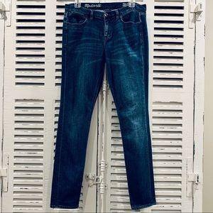 Madewell Skinny Skinny Jeans Size 29